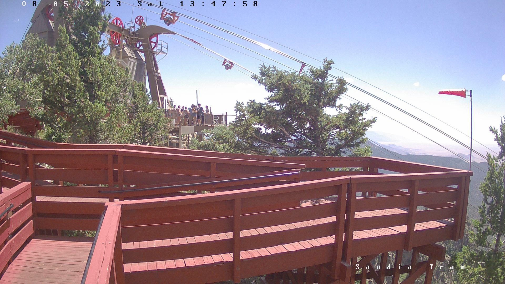 Sandia Peak:  Webcam